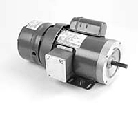 Brake Motor, Single Phase, Totally Enclosed