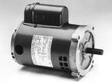 Oil Burner, Split Phase and Capacitor Start, Dripproof, NEMA 56C, C-Face Footless Marathon Electric Motors